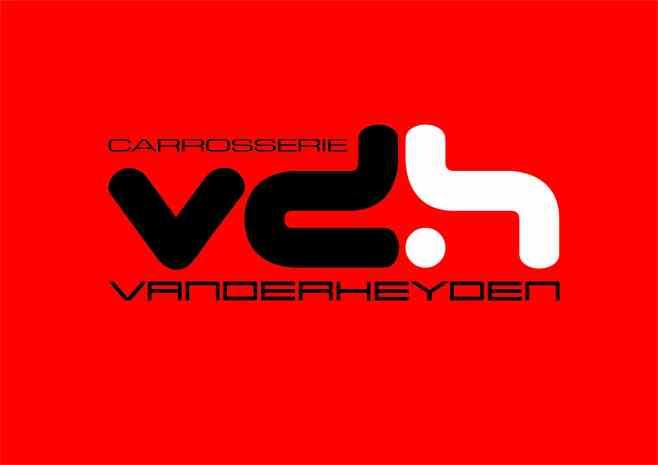 VanderLogo fond rouge